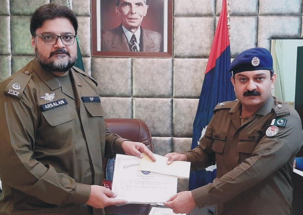 اے ایس آئی عمر محمود