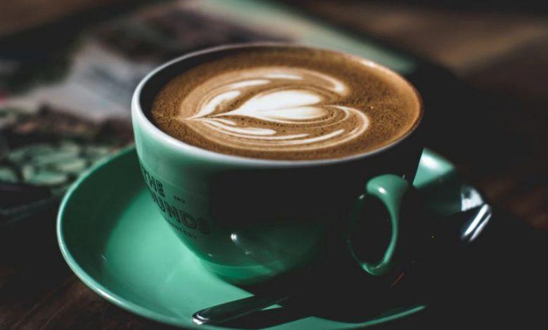 کافی پینے