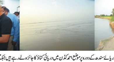 دریا سندھ کے کٹاﺅ